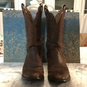 Ariat Leather Cowboy Boots